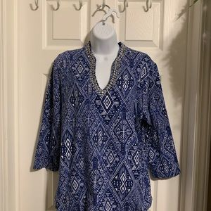 Ruby Rd. Blouse size Large